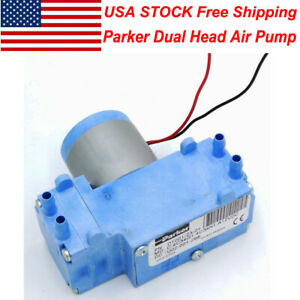 Us Stock Parker 12v Brushless Dual Head Vacuum Pump Diaphragm Pump Diy Air Pump