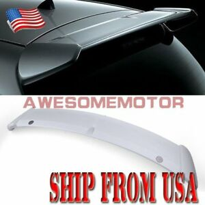 Us Fit 06 11 Toyota Yaris Vitz Hatchback Rear Tailgate Trunk Roof Abs Spoiler