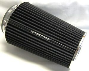 Spectre 9731 Black Cold Air Intake Filter 4 3 5 3 102 89 76mm Inlet Id