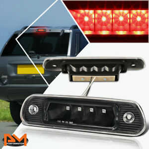 For 99 04 Jeep Grand Cherokee Led Third 3rd Tail Brake Light Stop Lamp Bar Black