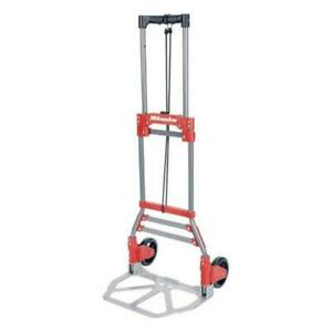 Milwaukee Hand Truck 33888 150 Lbs Cap Fold Up Hand Truck Pushbutton