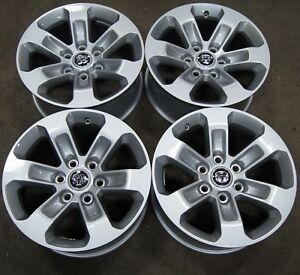 4 New Takeoff 2019 Only Dodge Ram 1500 18 Factory Oem Alloy Wheels Rims 1416b