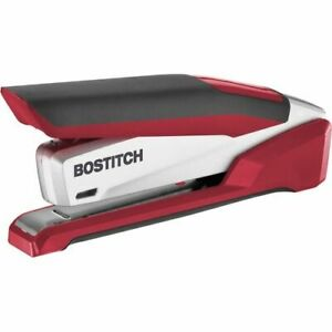 Paperpro 1117 Spring Powered Stapler 25 Sheet Capacity Red silver