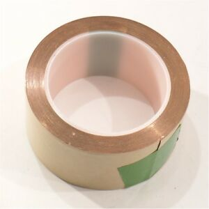 New Copper Foil Tape With Pressure Sensitive Adhesive psa 2 X 50 Ft 5 6 Mil
