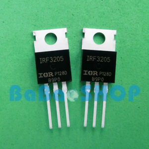 5pcs 100pcs New Irf3205 Irf 3205 Hexfet Power Mosfet 55v 110a To 220 Ir
