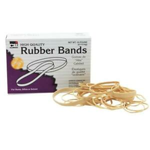 Charles Leonard Chl56154bn Assorted Size Rubber Bands Pack Of 10