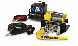 Superwinch 1331200 Ut3000 12 Vdc Winch 3 000lb 1360 Kg With Mount Plate Rolle