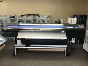 Roland Xr 640 Large Format Digital Vinyl Printer Plotter Cutter