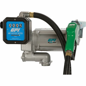 Gpi 115v Fuel Transfer Pump With Meter 30 Gpm