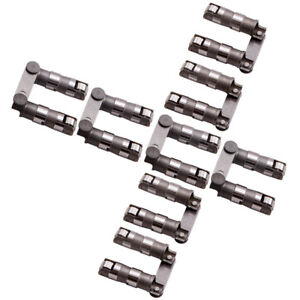 8 Pair Retro Fit Hydraulic Roller Lifters For Sbc Chevy Chevrolet V8 350 400