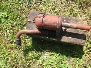 Used Ih Farmall Cub Air Cleaner With Intake Pipe