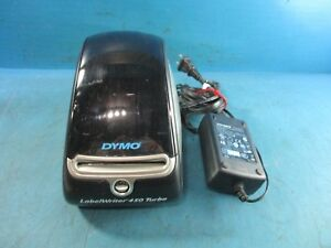 Dymo Labelwriter 450 Turbo Thermal Label Printer With Adapter Used