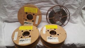 Lot Of Esab Mig Welder Wire Copper Stainless Steel