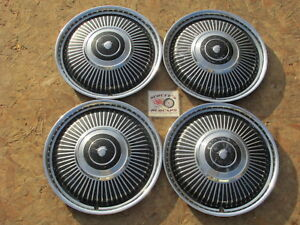 1965 Mercury Comet 14 Wheel Covers Hubcaps Set Of 4