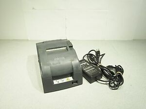 Epson Tm u220b M188b Idn Kitchen Receipt Printer Impact Printing 2 Part 2 Color