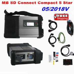 V2018 05 For Mb Sd Connect Compact 5 Star Diagnostic Code Reader Scanner Tool
