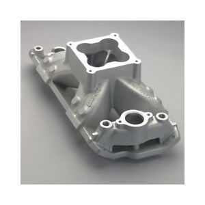 Edelbrock Super Victor Intake Manifold 2971 Sbc Fits Raised Port Heads