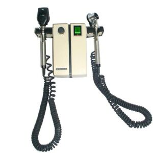 Welch Allyn 74710 Wall Mount Transformer And Otoscope With Two Heads
