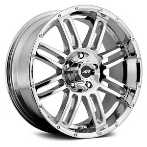 20 Inch Pvd Chrome Wheels Rims Ford Truck F250 F350 Super Duty 8 Lug Ar901 New