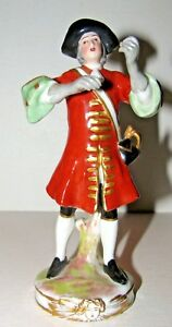 Antique France French Porcelain Soldier Figurine By Vincent Dubois
