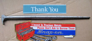 Snap On 1650 Ladys Foot Pry Bar 14 1 2 Long Vintage Usa Made