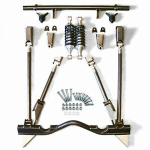 55 57 Chevy Tri Five Bel Air Rear 4 Link Kit Coilover Set Up Rear Suspension