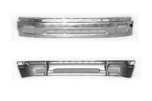 Cpp Steel Chrome Front Lower Bumper To1002170 For 2000 2002 Toyota Tundra