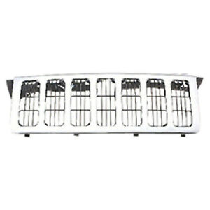Chrome Grill Assembly For 2006 2010 Jeep Commander Grille Ch1200303