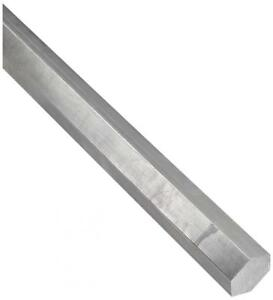 316l Stainless Steel Hex Bar Unpolished mill Finish 3 4 Across Flats