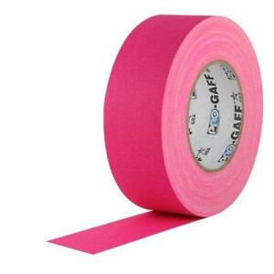 2 Width Protapes Pro Gaff Premium Matte Cloth Gaffer s Tape With Rubber