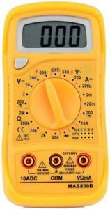 Mastech 19 range Digital Multimeter Mas830b