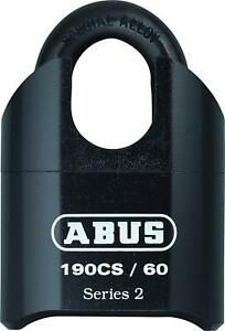 Abus 190cs 60 High Security Solid Steel Combination Padlock Closed Shackle