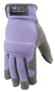 Wells Lamont Women s Synthetic Leather Work Gloves With Touch Screen