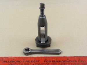 Nice Original Atlas Craftsman 10 12 Lathe Rocker Lantern Tool Post