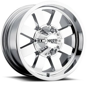 20 Inch Chrome Wheels Rims Lifted Ford F F250 F250 Truck Superduty Excursion New