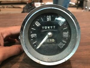 1960 Lincoln Continental Speedometer