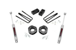 Rough Country 3 Suspension Lift Kit Chevy Silverado Gmc Sierra 1500 07 13 2wd