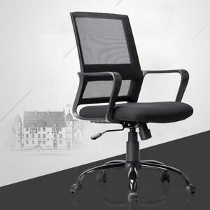Office Chair Desk Computer Ergonomic Swivel Executive Rolling Chair With Arms
