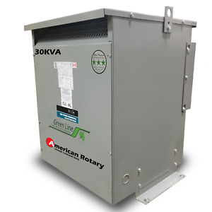 30 Kva 240d 480y 277 Isolation Transformer 3 Phase Free Ship In Stock