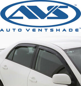 Avs 194620 In channel Window Deflector Ventvisor 4 piece 03 08 Toyota Corolla