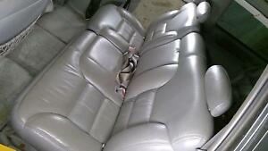 95 99 Gmc Chevy Suburban Tahoe 2nd Row Leather Seat gray