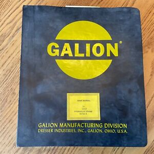 Galion 150fa Service Shop Repair Manual Hydraulic Rough Terrain Rt Mobile Crane