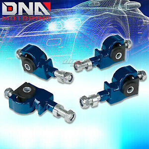 90 97 Accord 01 Integra 88 95 Civic Blue Front Camber Suspension Adjuster Kit