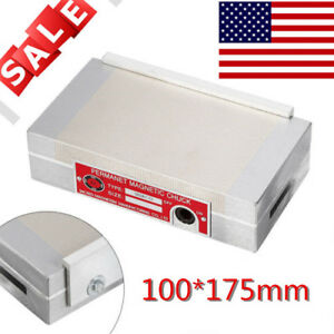 100 175mm Surface Grinder Permanent Magnetic Chuck Fast Shipping Precise Details