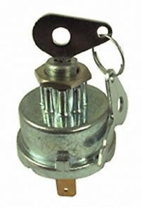 International 444 Tractor Ignition Switch with Extra Terminal