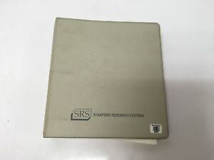 Stanford Research Systems Model Sr770 Fft Network Analyzer Operation Manual