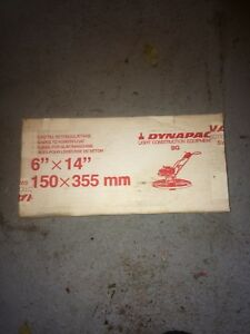 Dynapac Powerfloat Blade 2 Box s Of 4 One Open For Ship Surface Rust See Pics