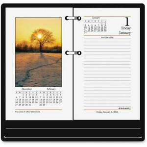 At A Glance Aage41750 Photographic Desk Paper Calendar Refill