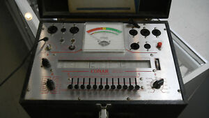 Conar Model 221 Tube Tester With Manual tested And Works Used