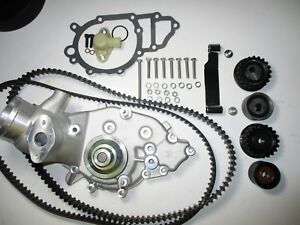 Porsche 944 Turbo 951 Water Pump Kit New Uro Belts Rollers 87 Stage 2